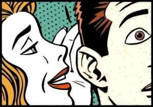 street-punk-gogn-einkamal-woman-whispering-to-man-pop-art-5374421